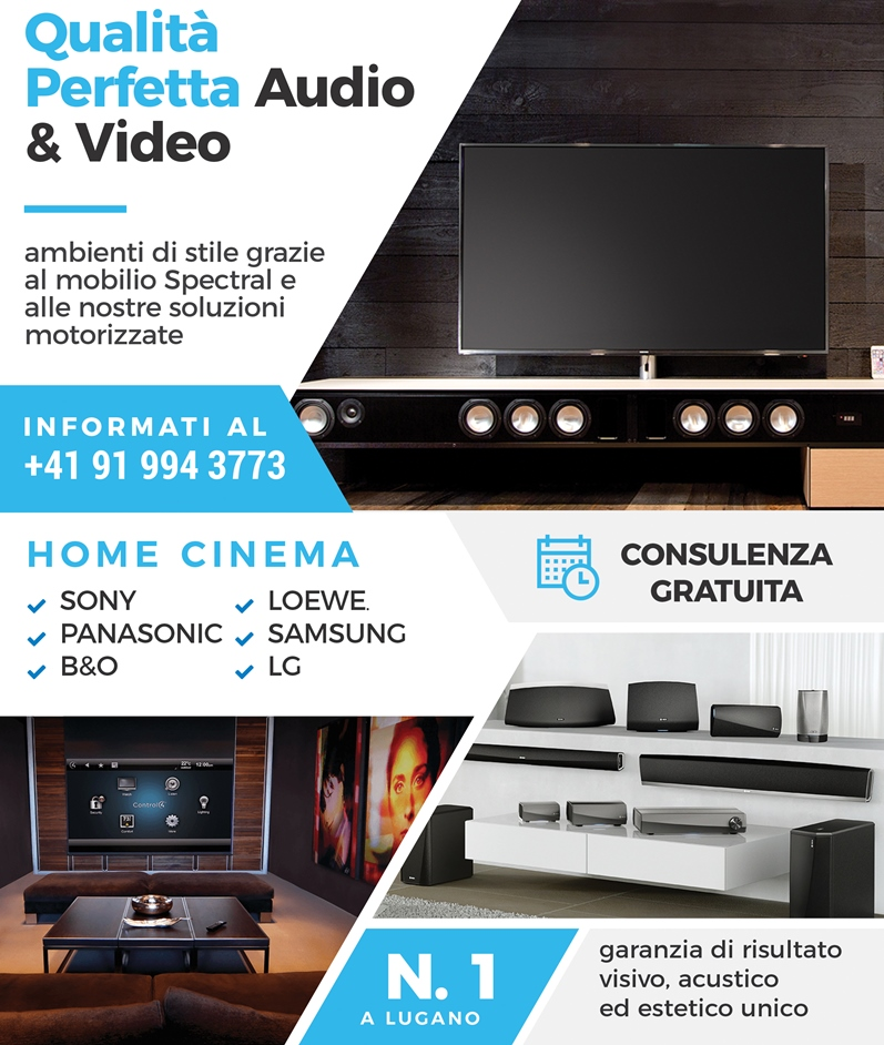 Installazione e assistenza impianti audio e video Ticino