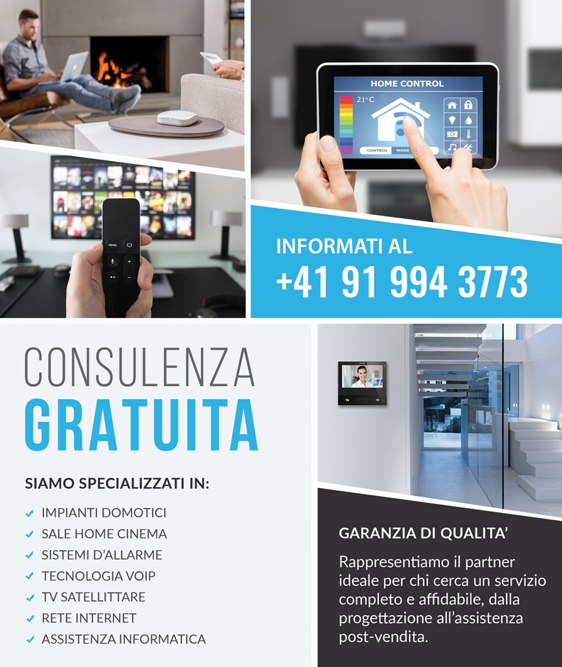 Installazione e assistenza TV satellite Massagno